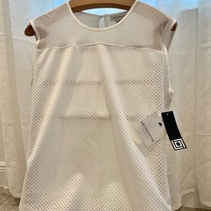 🌷Liz Claiborne White Collection Sleeveless🌷